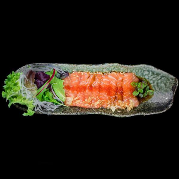 93 Salmon Carpaccio 9 Stk