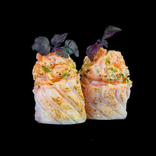 1 Salmon Rose ® 2 Stk