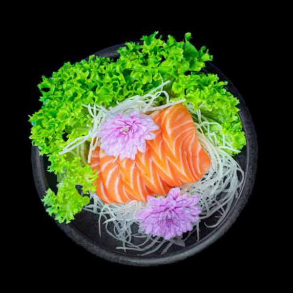 85 Salmon Sashimi 6 Stk