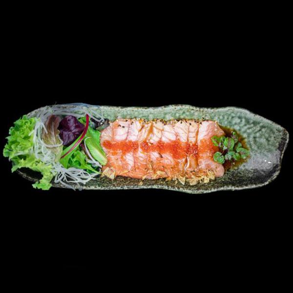 96 Salmon Tataki 9 Stk