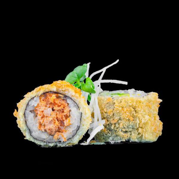 74 Spicy Tuna Crunchy 8 Stk